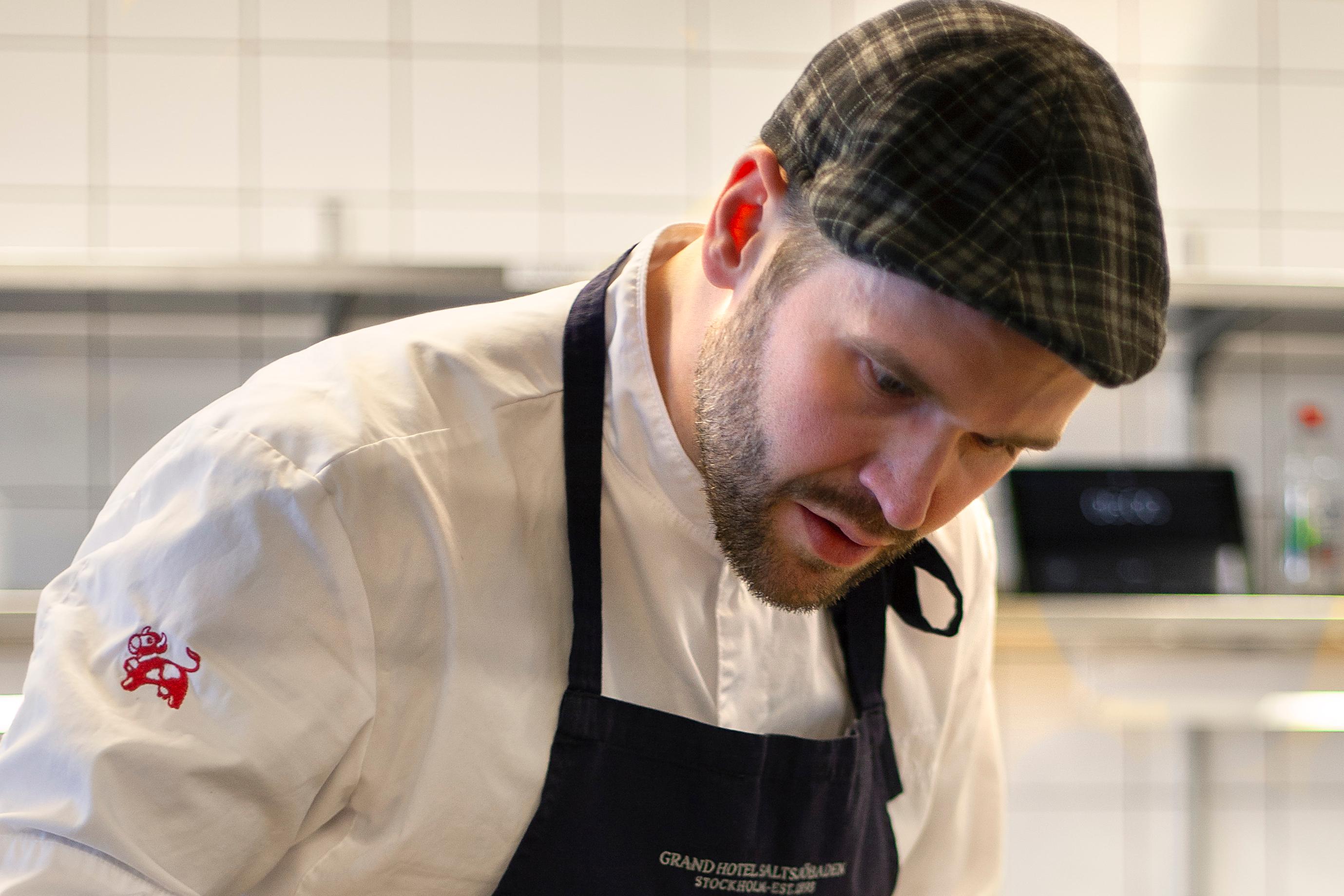 David Lundqvist finalist Årets Kock 2018